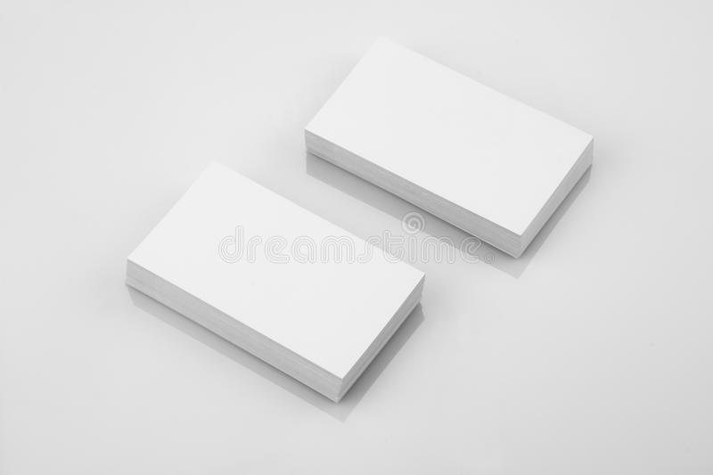 Blank business card mockup on reflective background stock photo download blank business card mockup on reflective background stock photo image of business mockup reheart Gallery