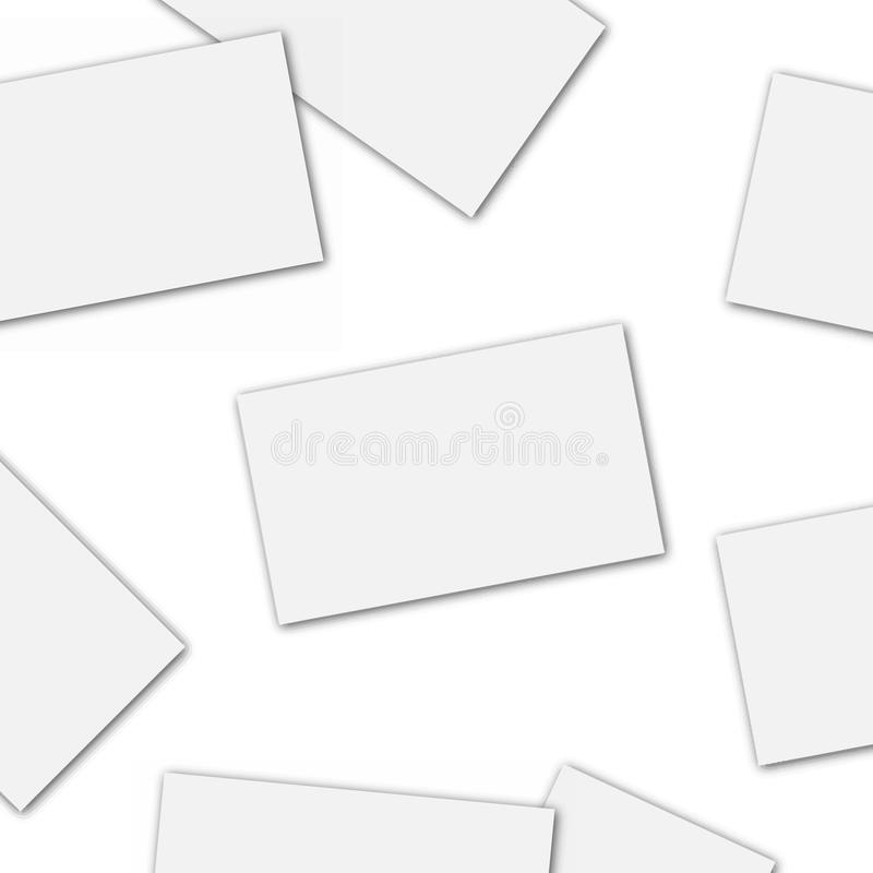 Blank of business card template vector stock illustration download blank of business card template vector stock illustration illustration of banner pile cheaphphosting Images