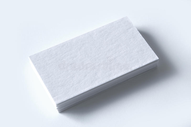 Blank business cards on white stock photo image of template blank download blank business cards on white stock photo image of template blank 42948690 reheart Gallery