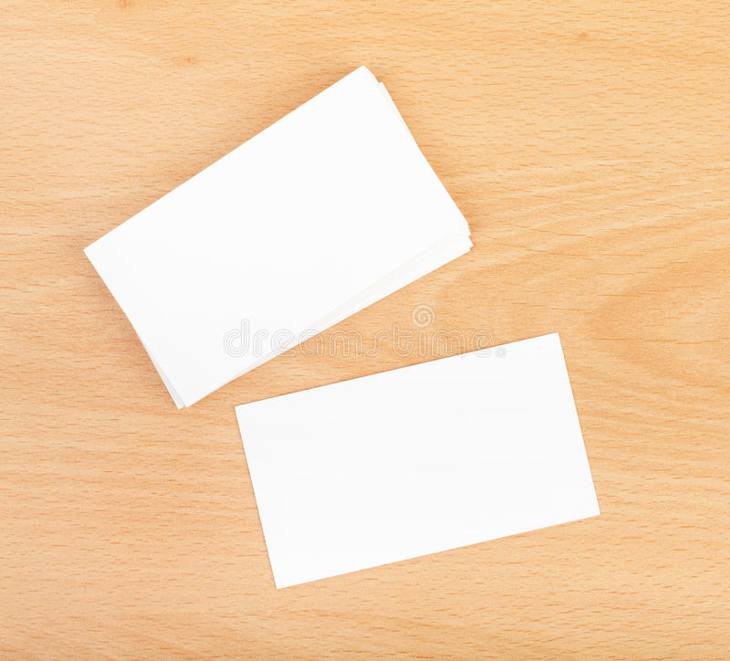 Blank business cards stock image. Image of empty, copyspace - 35577949