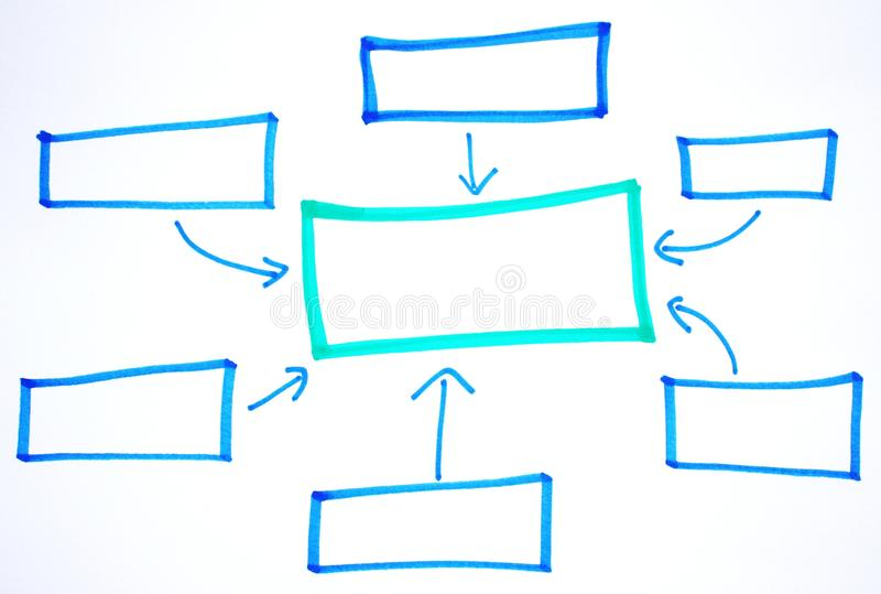 Blank business diagrams stock photo image of note data 33215228 empty business colorful flow charts ccuart Gallery