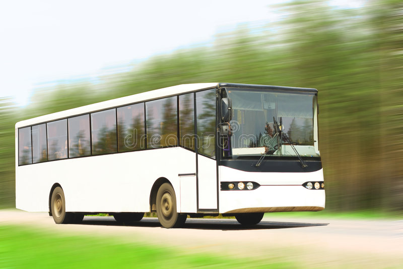 blank buss royaltyfria foton