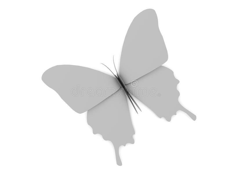 Download Blank butterfly stock illustration. Illustration of bright - 22450433