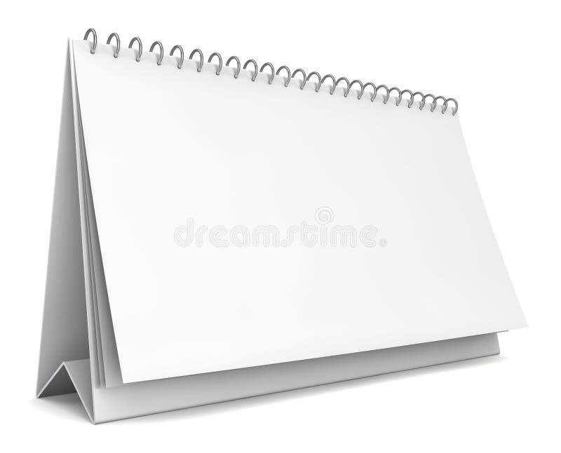 Blank calendar royalty free illustration
