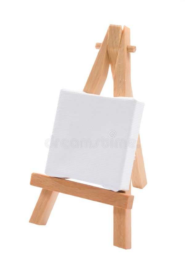 A Blank Canvas royalty free stock photo