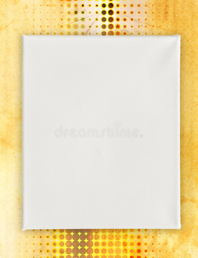 Blank canvas art background royalty free stock image