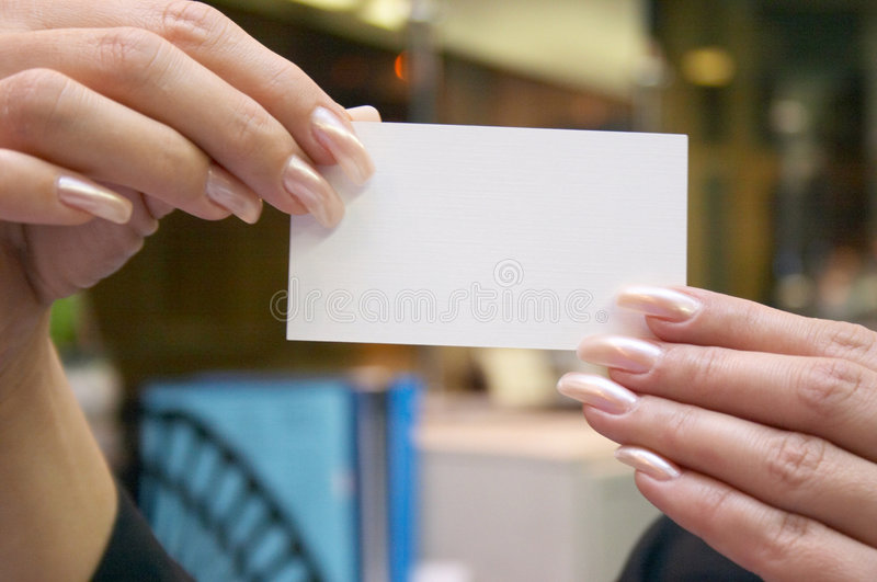 Download Blank Card Royalty Free Stock Photos - Image: 504528