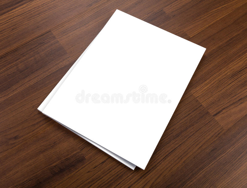 Blank catalog,brochure, magazines,book mock up on wood background. Blank catalog,brochure, magazines,book mock up royalty free stock images