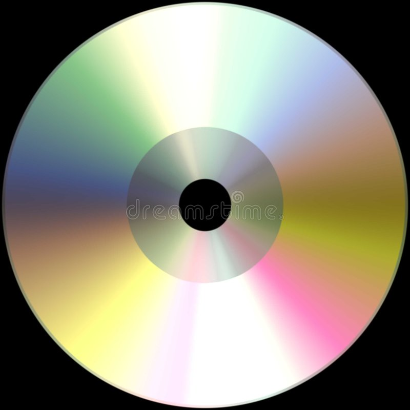 Download Blank CD Royalty Free Stock Photo - Image: 6745355