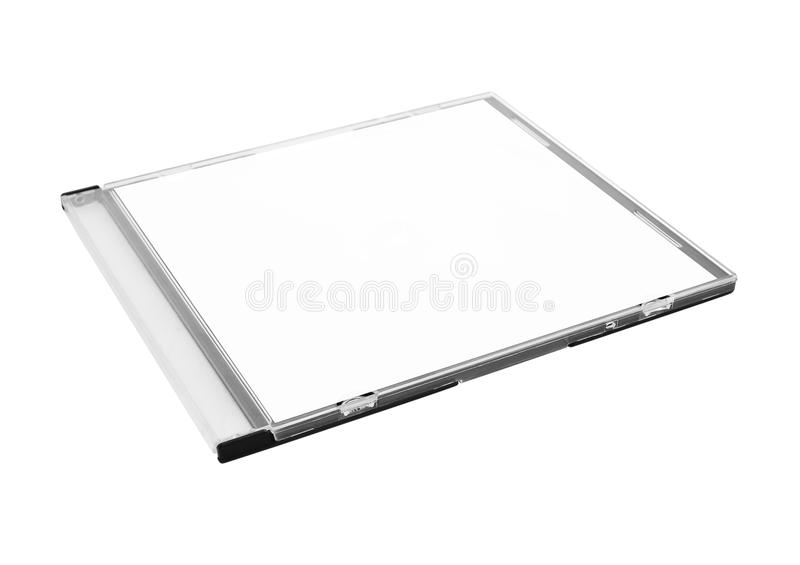 Download Blank CD Case stock image. Image of path, case, label - 28414779