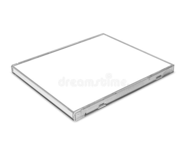 Blank CD Case Royalty Free Stock Photo