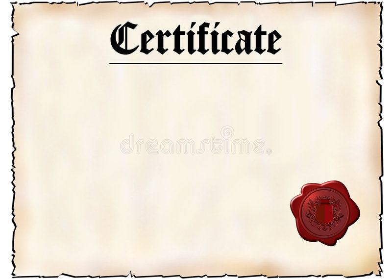 Blank Certificate Stock Illustration Illustration Of Background