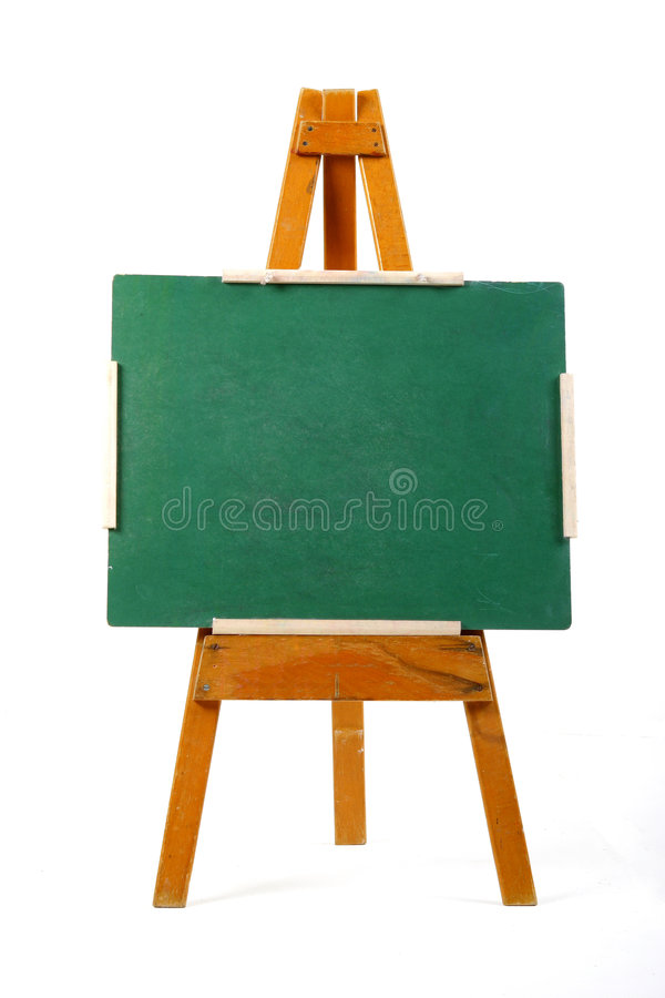 Download Blank chalk board stock image. Image of chalkboard, isolated - 1899333