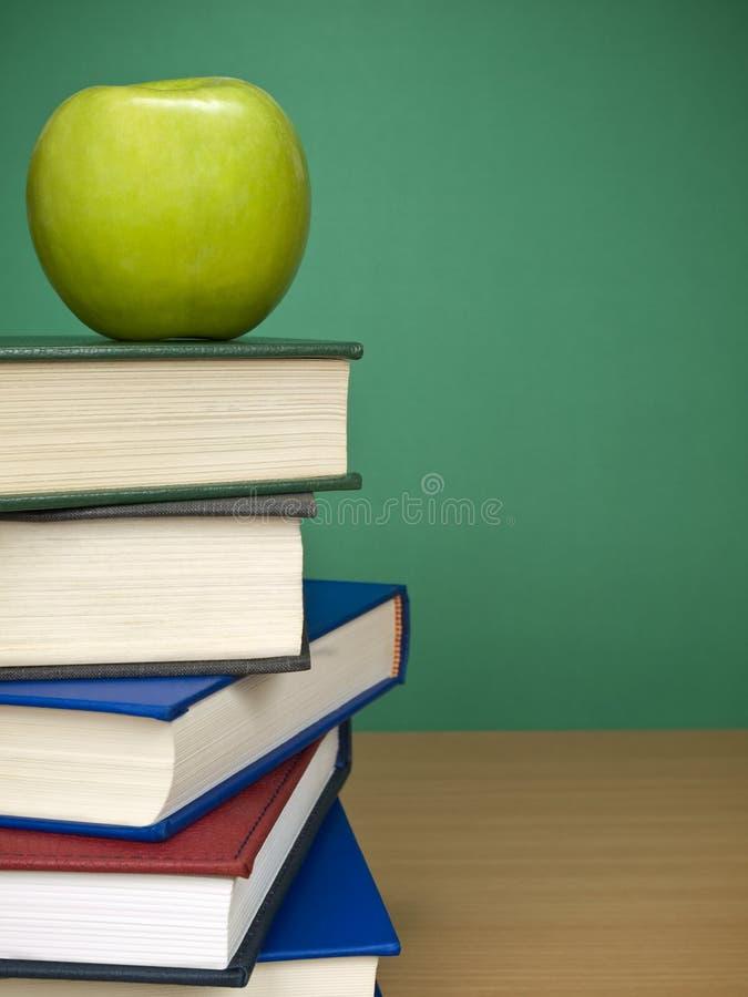 Download Blank chalkboard stock image. Image of books, copyspace - 8348855