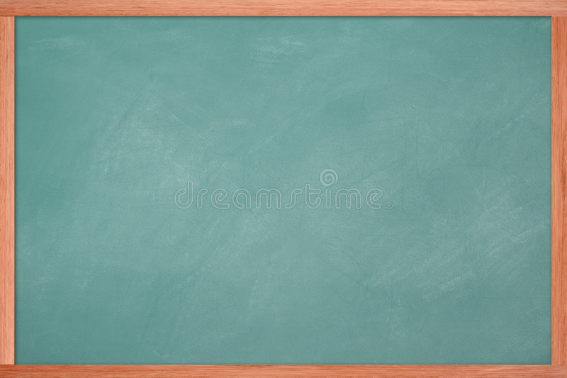 Blank Chalkboard stock photography