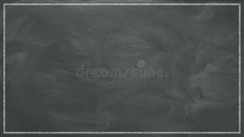 Blank Chalkboard Background stock photo