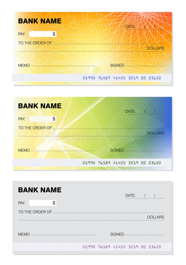 blank check stock illustration. image of magnetic, fake - 12055997, Powerpoint templates