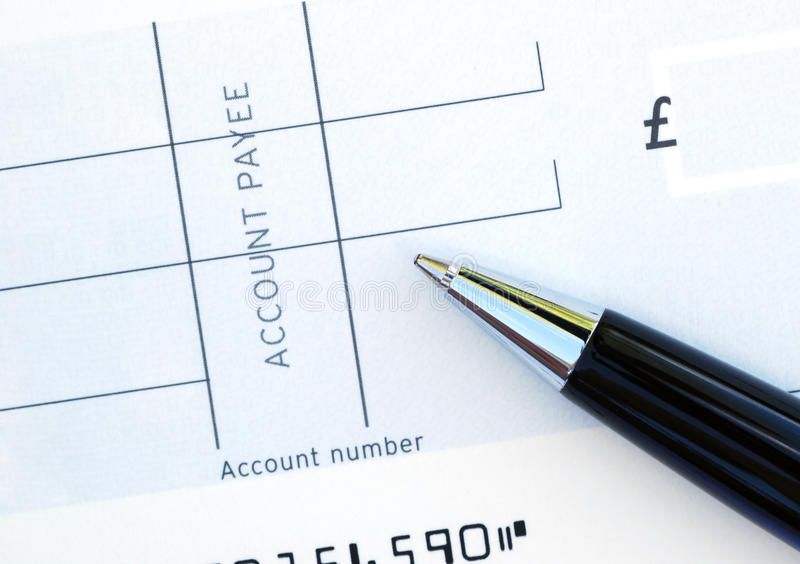 Download Blank cheque stock photo. Image of blank, settlement, tools - 9791430