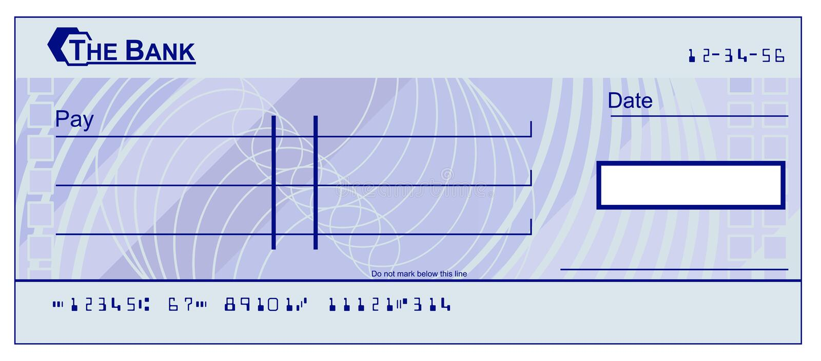 Fake Check Template Free from thumbs.dreamstime.com