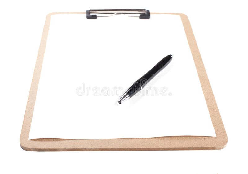 Blank Clipboard - Stock image stock images
