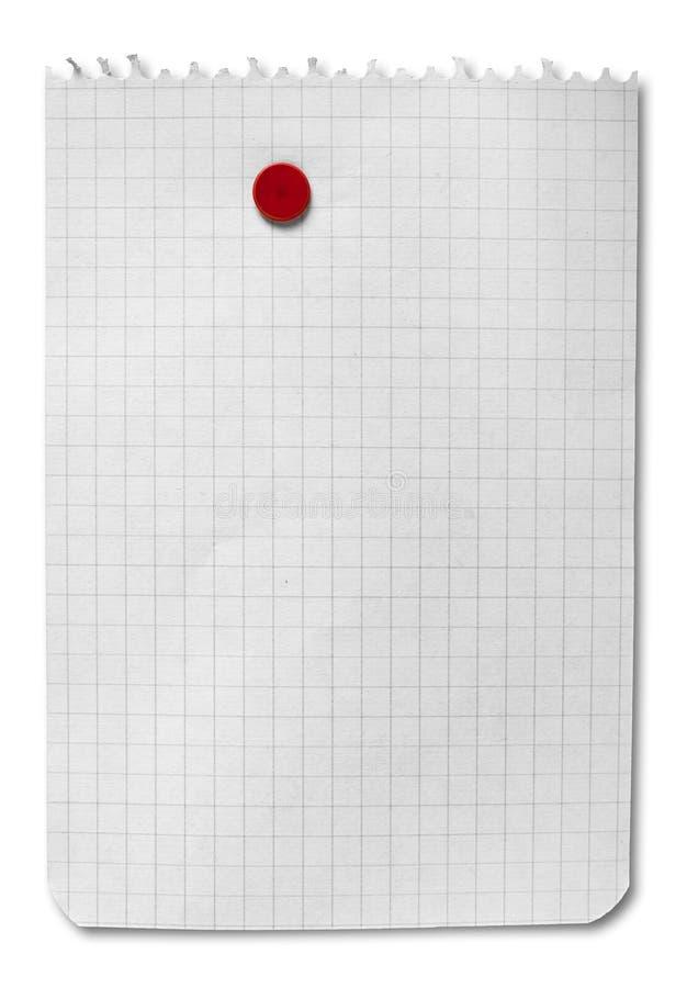 blank clipping isolerad anmärkningsbana arkivbild