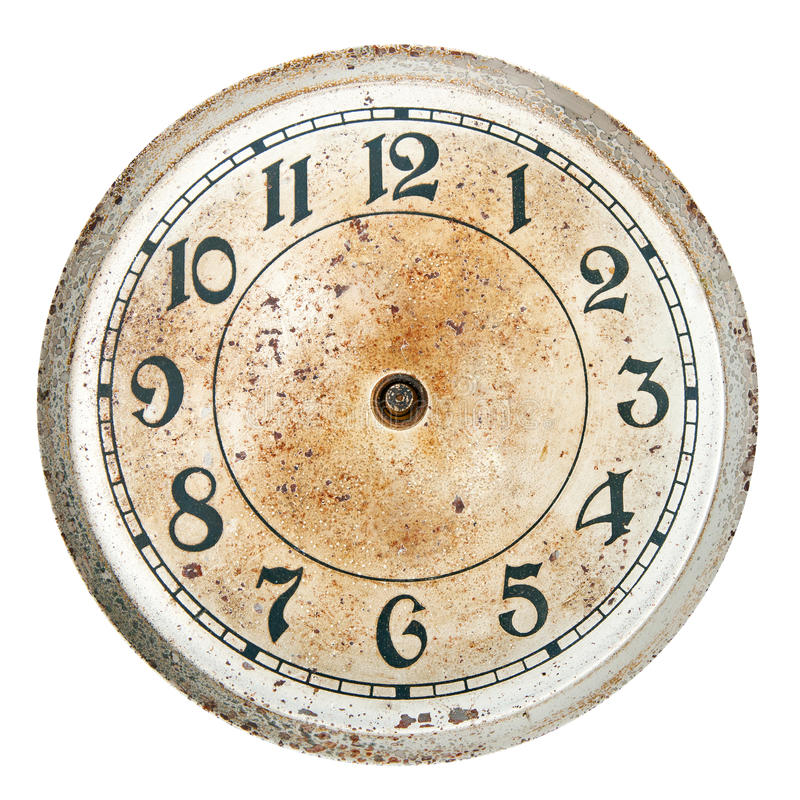 Blank Clock Dial Without Hands Stock Photo Image 58355706