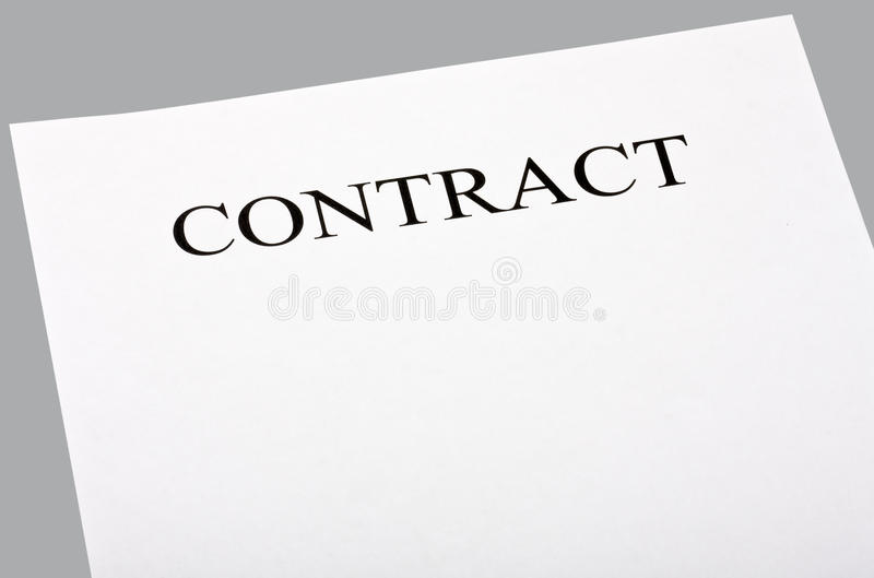 Download Blank contract stock photo. Image of investment, consumer - 24293252