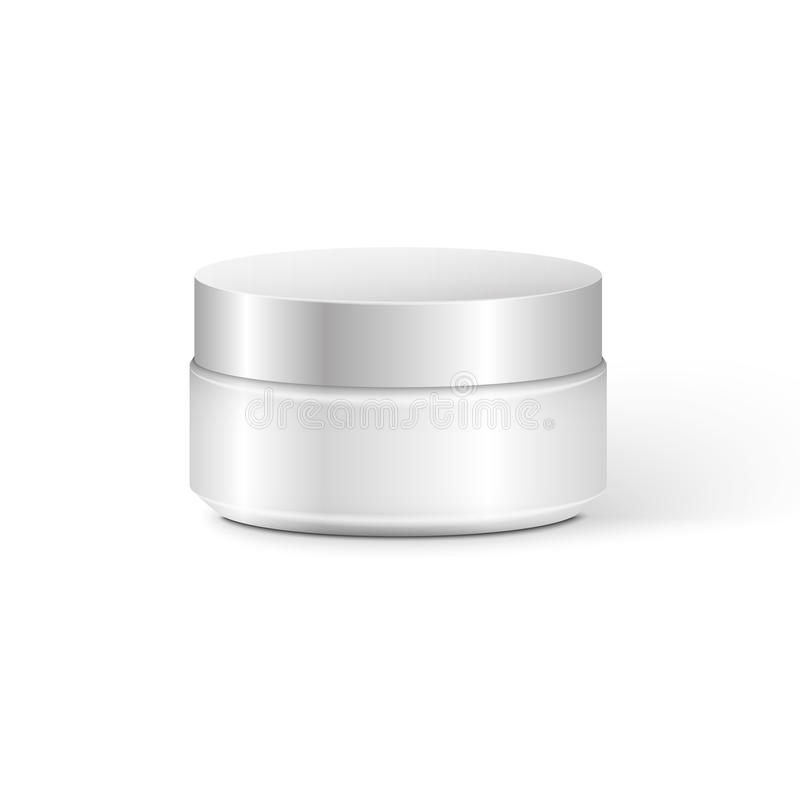 Blank Cosmetic Container royalty free illustration