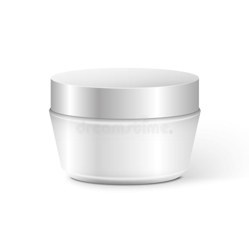 Blank Cosmetic Container vector illustration