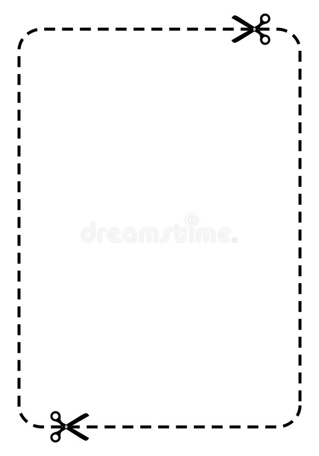Download Blank coupon stock vector. Illustration of isolated, discount - 23443977