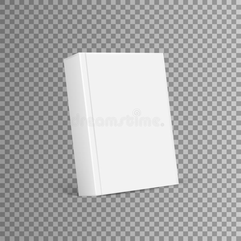 Blank Cover Of Magazine, Book, Booklet, Brochure. Blank book cover template. isolated on white background. Vector illustration. vector illustration