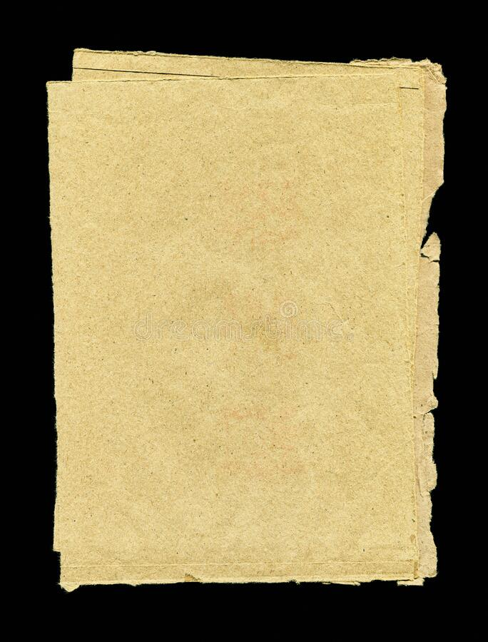 Blank crumpled brown paper textured background isolated royalty free stock photos