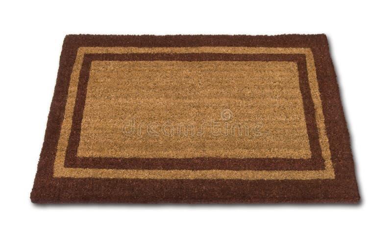 blank den isolerade matta välkomnandet royaltyfri bild