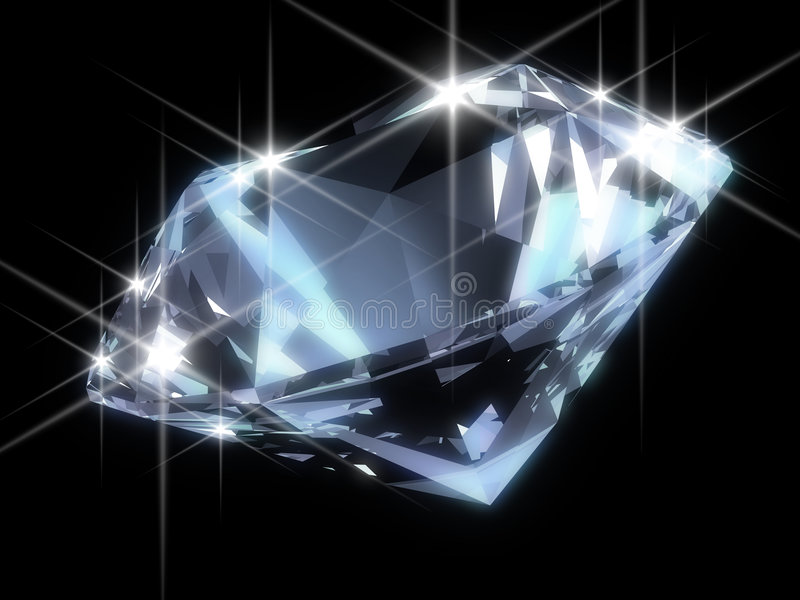 blank diamant stock illustrationer