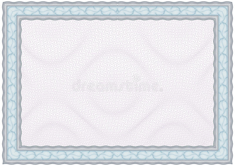 Download Blank Diploma Or Certificate Stock Vector - Image: 20121841