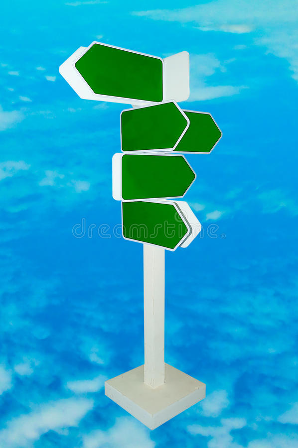 Download The Blank Direction Of Signpost Stock Image - Image: 25748747