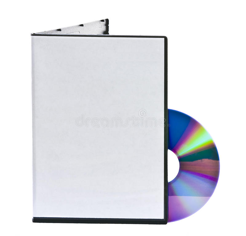 Free Blank DVD Case And Disc Stock Image - 17401141