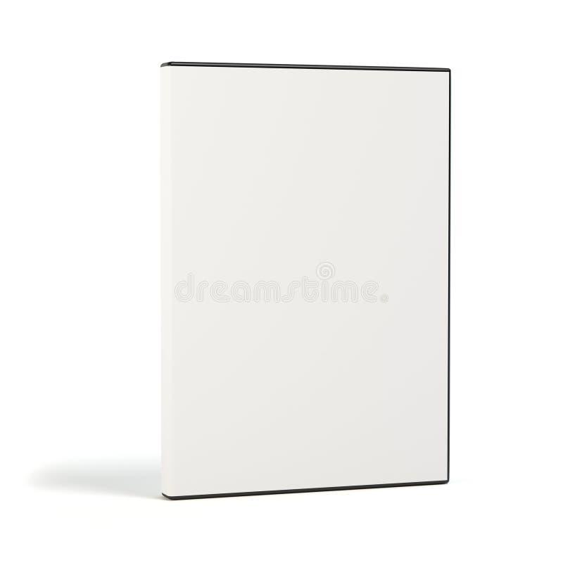 Free Blank DVD Case On White Stock Image - 45123521