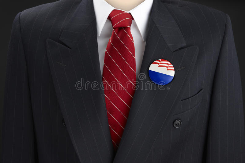 Download Blank election Pin stock image. Image of political, blank - 21537559