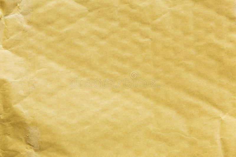 Blank empty old brow post envelope background royalty free stock photos