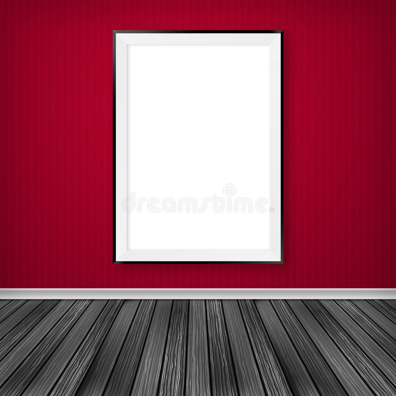 Download Blank empty white frame stock illustration. Image of geometrical - 31826431