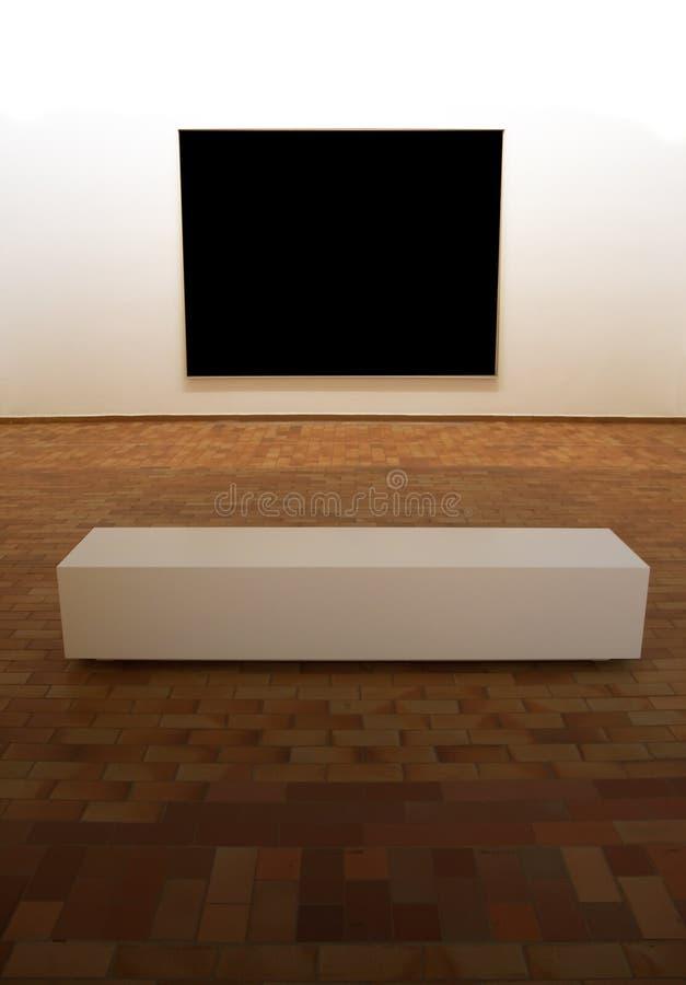 blank exposition panel square στοκ εικόνα