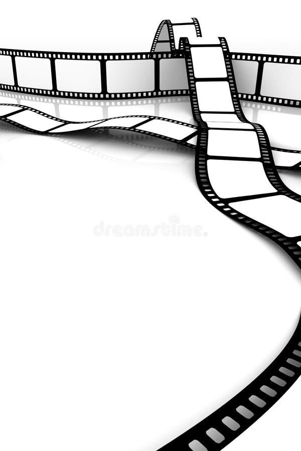 blank film vektor illustrationer