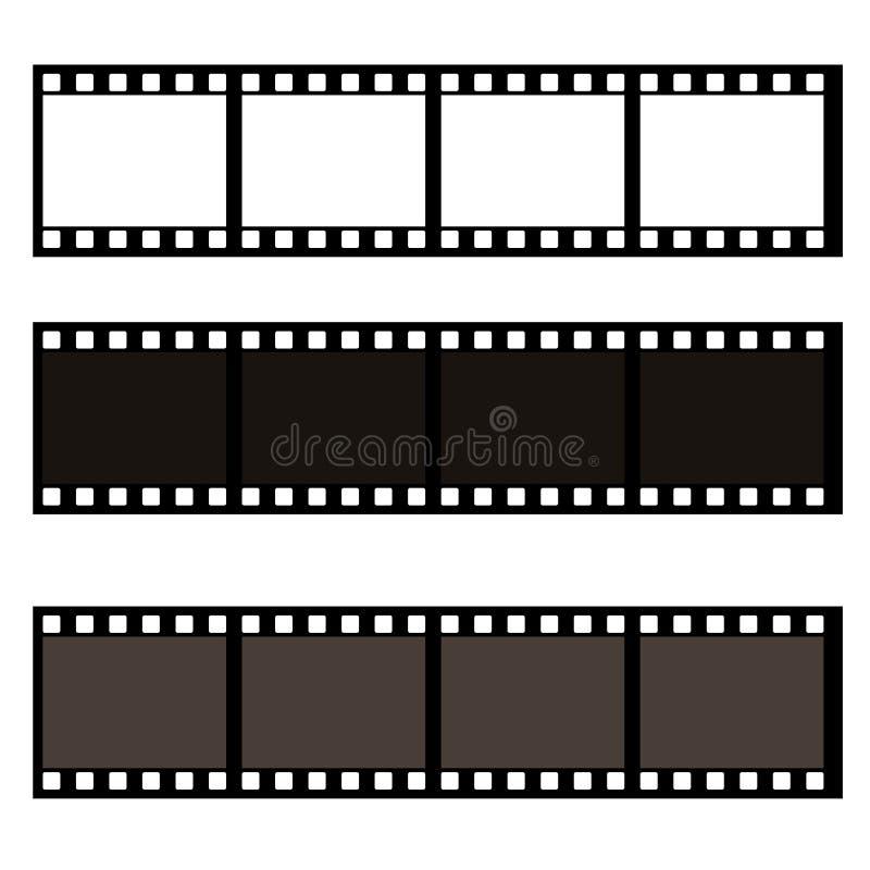 Blank film frame stock illustration. Image of frame vector. Illustration stock illustration