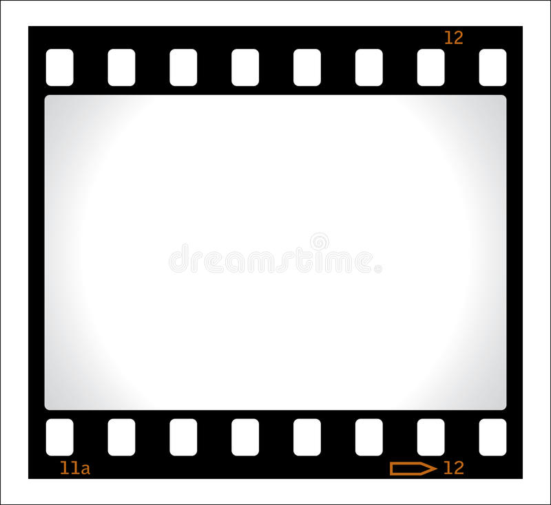 Free Blank Film Negative Royalty Free Stock Photos - 12895698