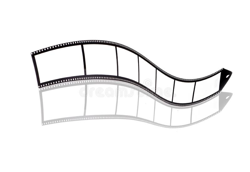Blank film strip stock photography