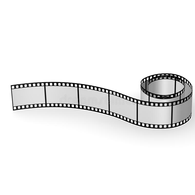 Download Blank film tape stock illustration. Image of projector - 23602268