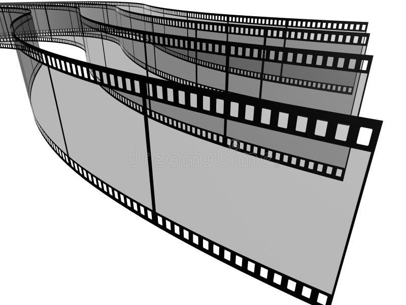 Blank filmes stock photography