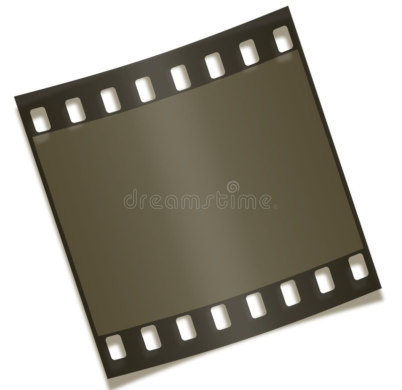 Blank Filmstrip Negative Photography Royalty Free Stock Images