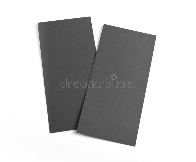 Blank flyer over white background to replace your design. Blank flyer over white background to replace your design stock photos